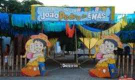 Emas - Festa junina:  Por Maria Alves